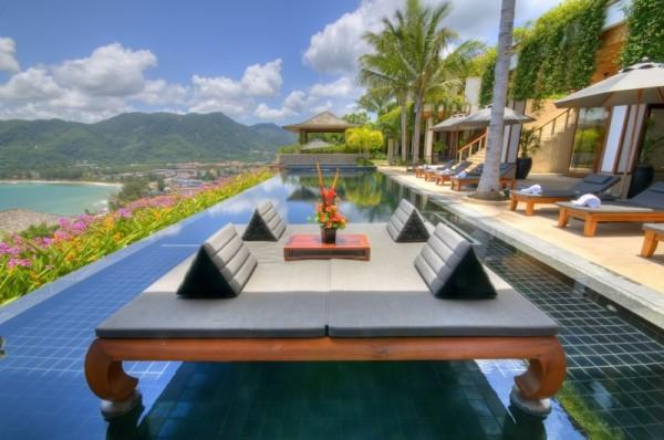 Thai Luxury Seaside Villa – stylish pool