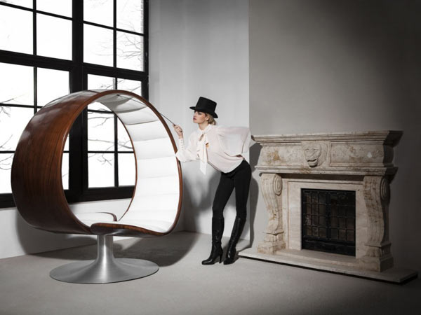 The Hug Chair by Gabriella Asztalos1 Curvy Two Seater Focused on Social Interaction and Comfort