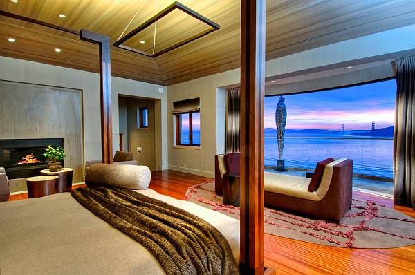 Villa Belvedere - San Francisco - Decoist 16 - amazing views bedroom design