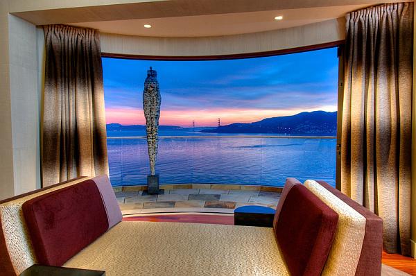 Villa Belvedere – San Francisco – Decoist 17 – bedroom views