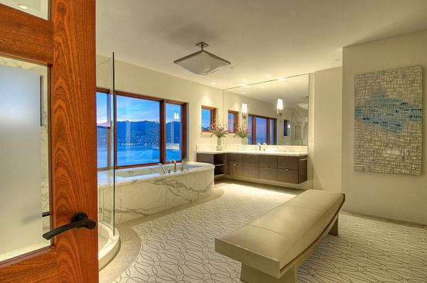 Villa Belvedere – San Francisco – Decoist 20 – luxurious bathroom decorating