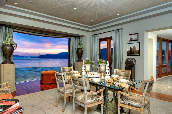 Villa Belvedere – San Francisco – Decoist 5 – dining room decoration