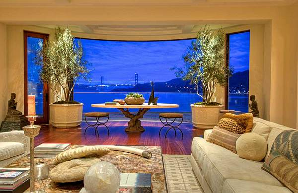 Villa Belvedere San Francisco Decoist Villa Belvedere: Picture perfect view of San Francisco