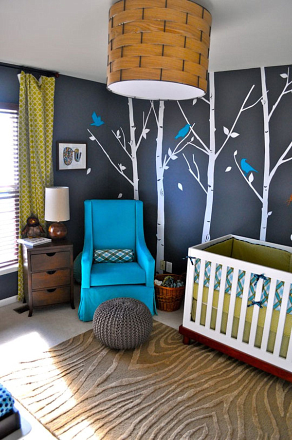 25 modern nursery design ideas for Baby room decoration boy