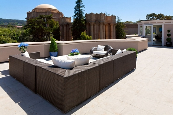 Courtyard Furniture & Decoration Inspiration Be Creative