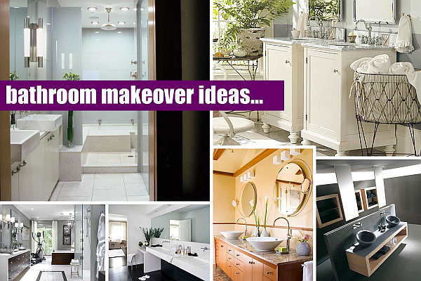 bathroom makeovers 20 Elegant Bathroom Makeover Ideas