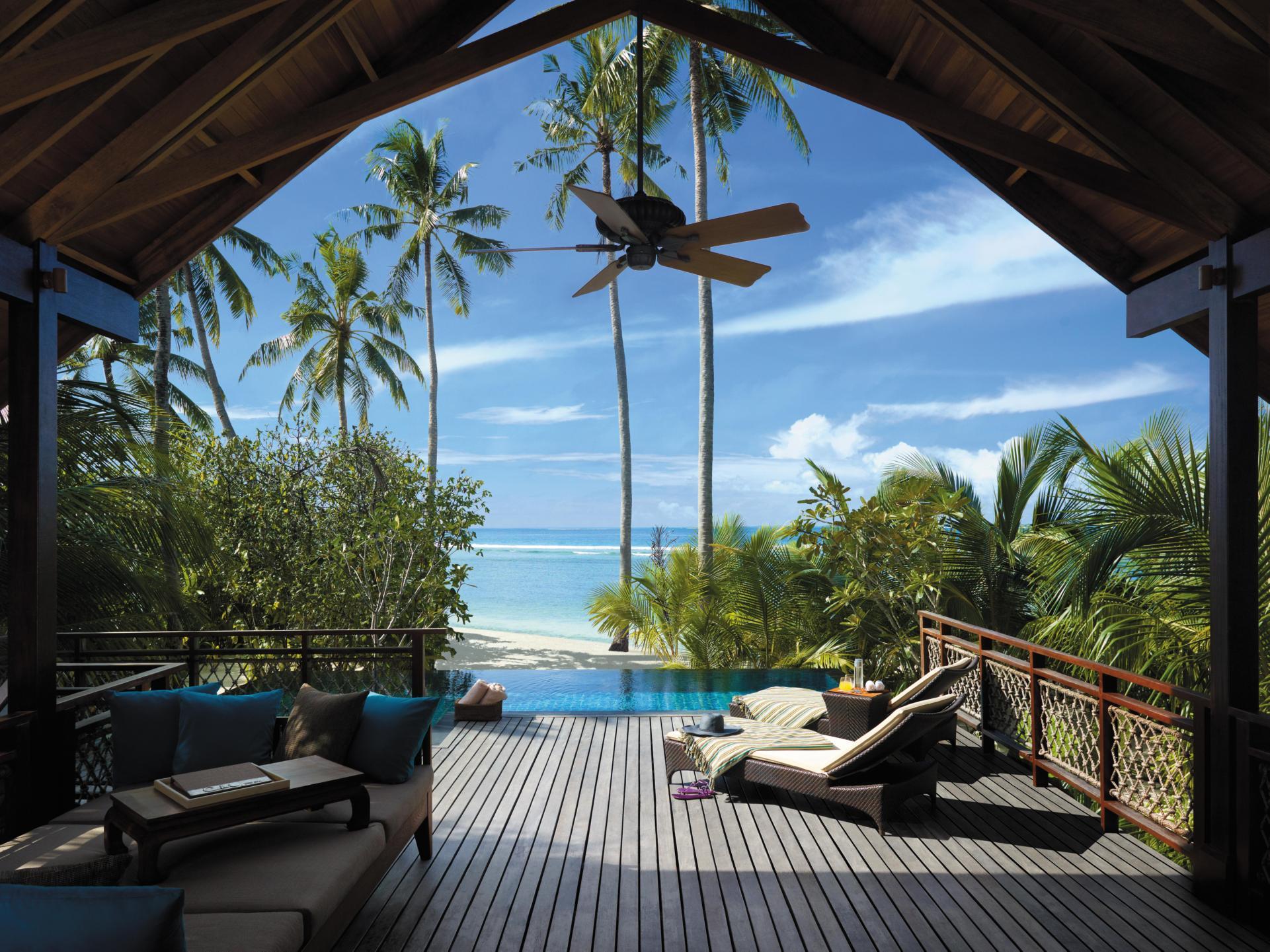 Creating a backyard oasis 26 sleek pool designs for Beach house yard ideas