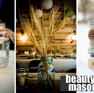 beautiful DIY mason jars