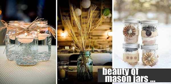 beautiful DIY mason jars Seven Repurposing Ideas for Mason Jars