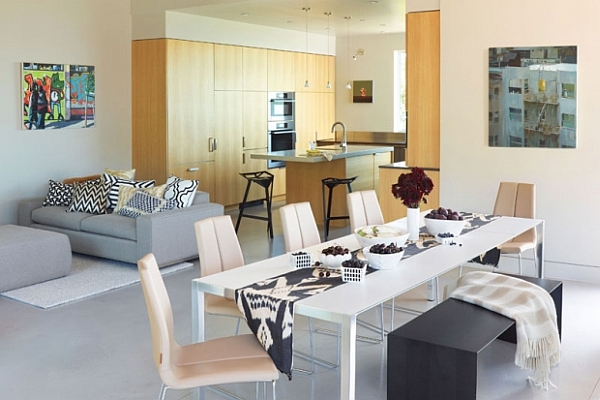 Dining room decorating ideas 19 designs that will inspire you for Beautiful modern dining rooms