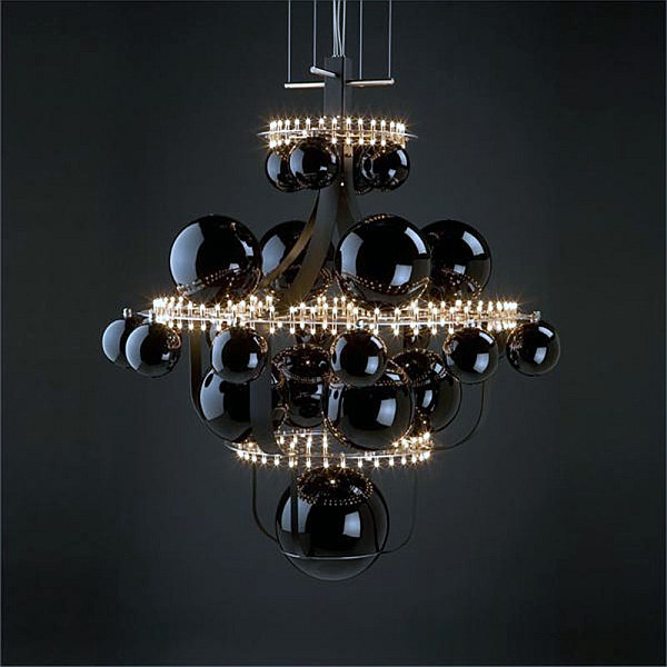choosing the right chandelier 18 contemporary ideas to inspire. Black Bedroom Furniture Sets. Home Design Ideas