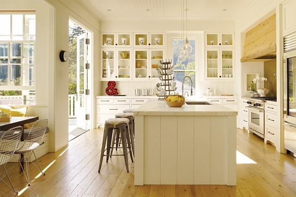 Beautiful and functional kitchen design inspirations Bright kitchen
