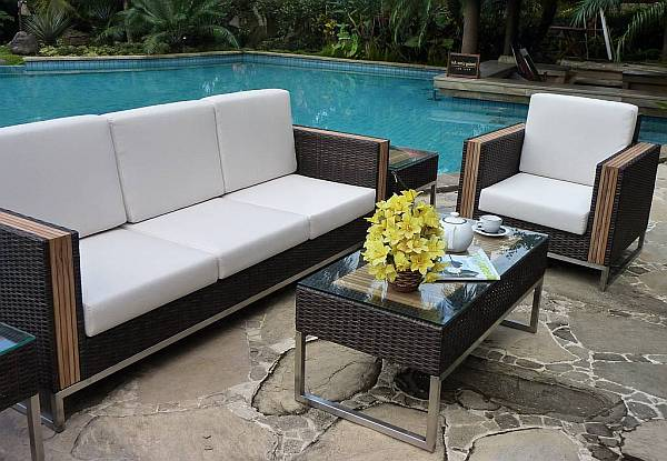 Beautiful Outdoor Furniture outdoor design: choosing elegant patio furniture