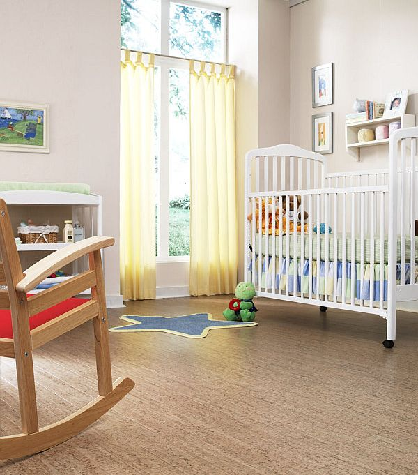 child bedroom cork flooring