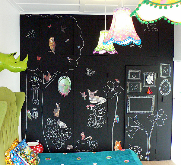 children-room-with-chalkboard-painted-wall