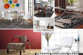 chrome furniture ideas