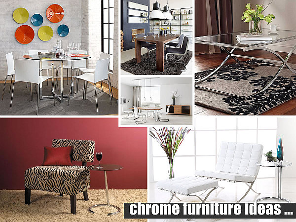 chrome furniture ideas Decorating With Chrome Furniture