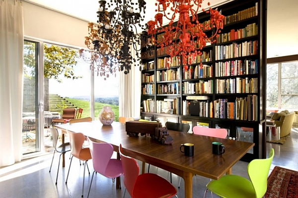 classic dining room is creative
