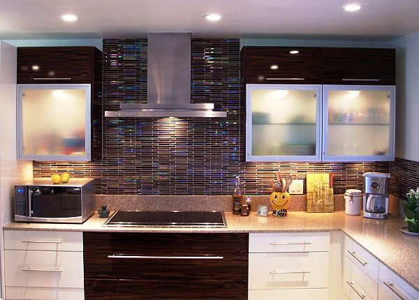 colorful kitchen backsplash tiles