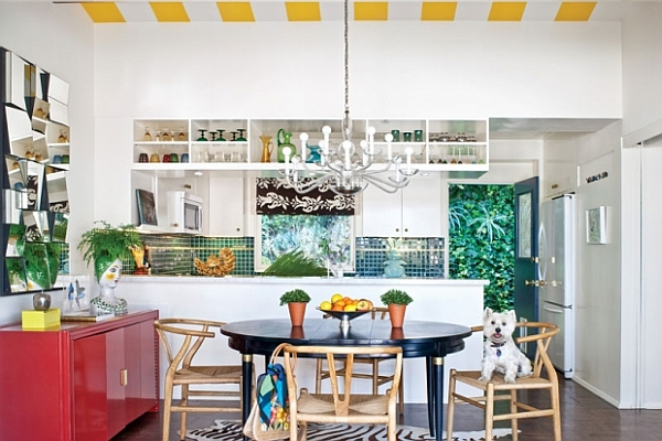 colorful modern kitchen decor & furniture