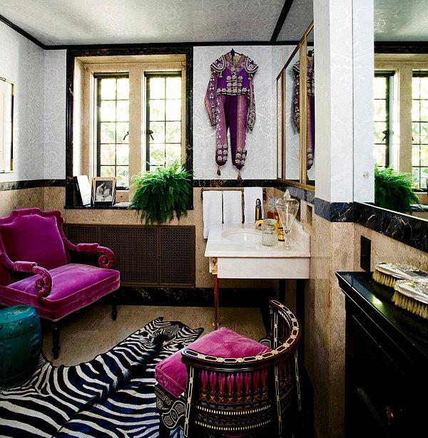 colorful-powder-room-design