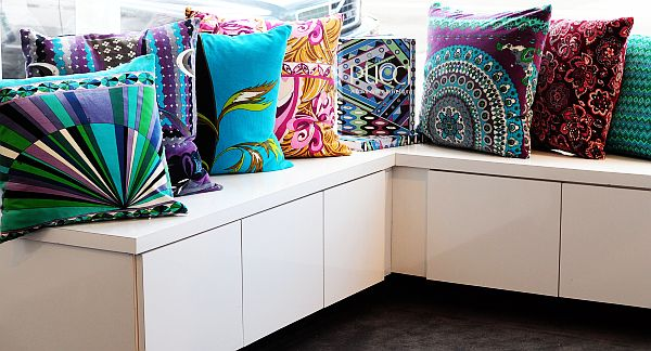 colorful pucci pillows