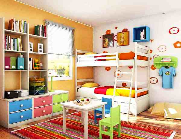Best paint colors for small spaces for Paint colors for kids bedrooms