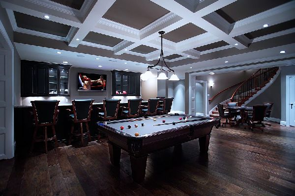 Design ideas for game and entertainment rooms Room decorating games for adults