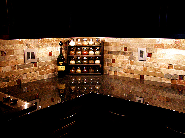 contemporary kitchen backsplash tiles