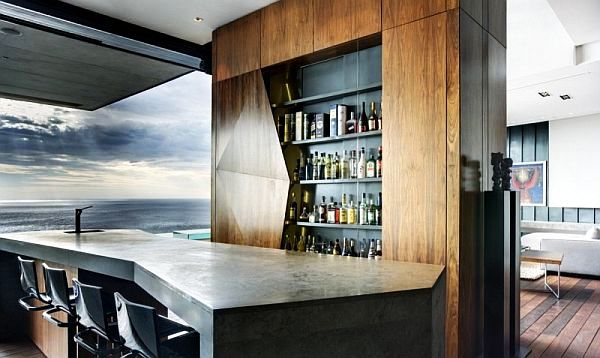 contemporary minibar kitchen decoration Classy Spirits: Bringing Back the Mini Bar