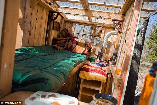 cosy eco friendly micro houses Tiny House Living: $200 Microhouses Built with Scavenged Stuff