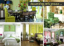 Shades of Green: A Verdant Spring Decorating Palette