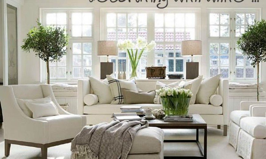 Decorating with Bright, Modern White