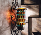 decorative wall sconce ceramics