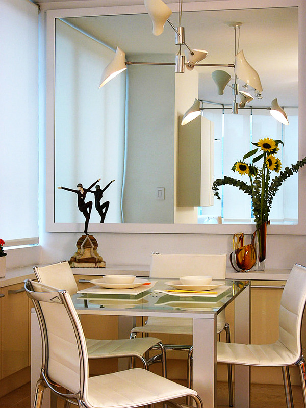 Where To Hang A Mirror In Dining Room