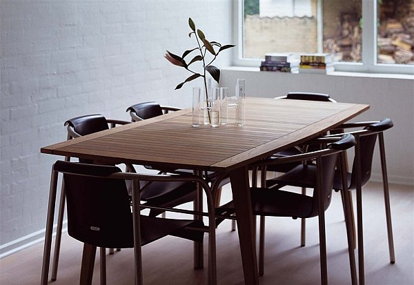 dining room teak furniture Teak Furniture for a Retro Chic Look