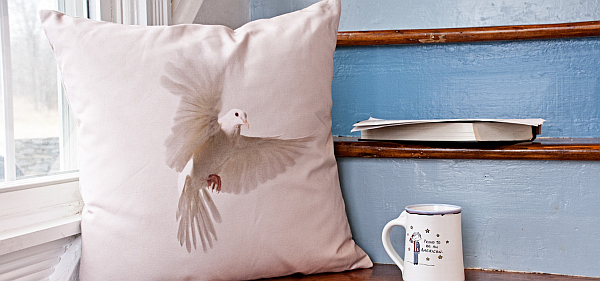 dove pillow cushion