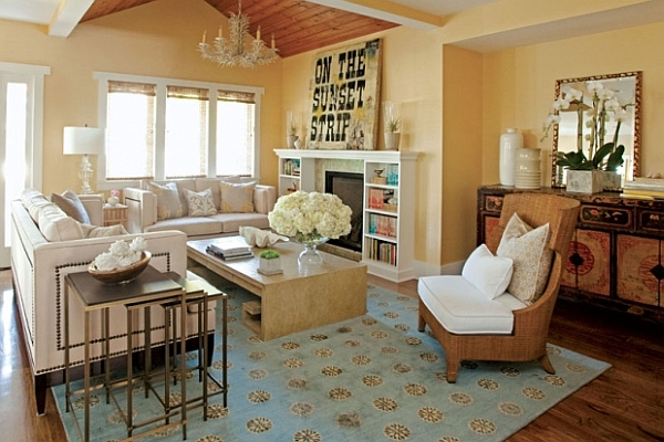 Elegant living room decor ideas decoist for Great room decorating ideas