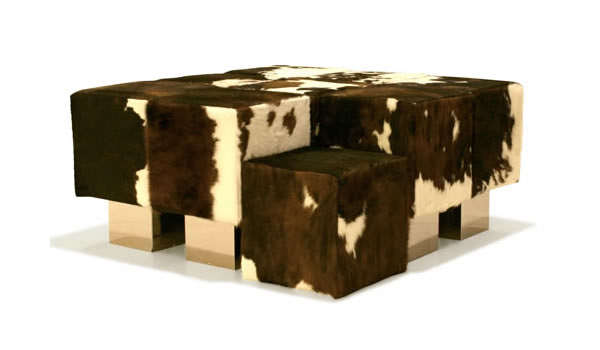 engineered upholstered cubes – modular seating