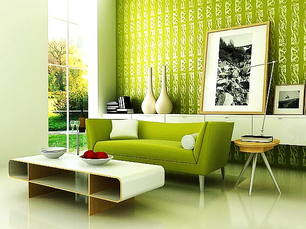 If walls could talk giving your room self expression by - Green living room ideas decorating ...