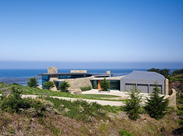 Otter Cove Residence Stunning Modern Home On The Coast Of