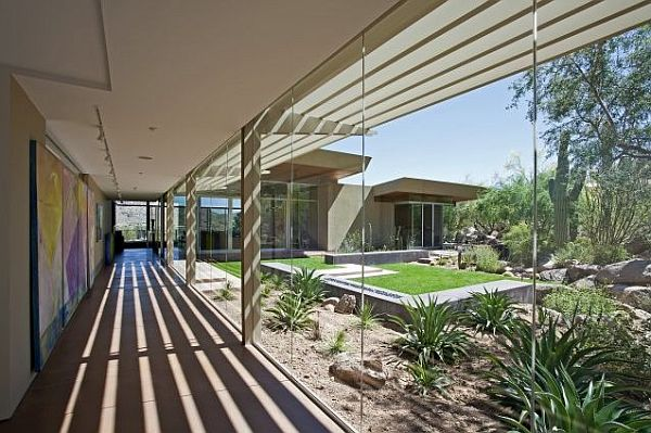 indoors and outdoor living with transparent windows – Sonoran Desert 2