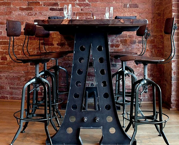 Industrial Dining Table Metal And Decoist