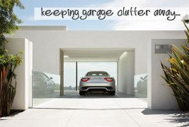 keeping garage clutter away