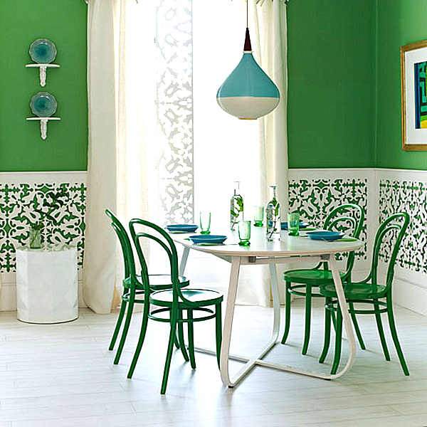 Hgtv Living Room Color Ideas: Shades Of Green: A Verdant Spring Decorating Palette