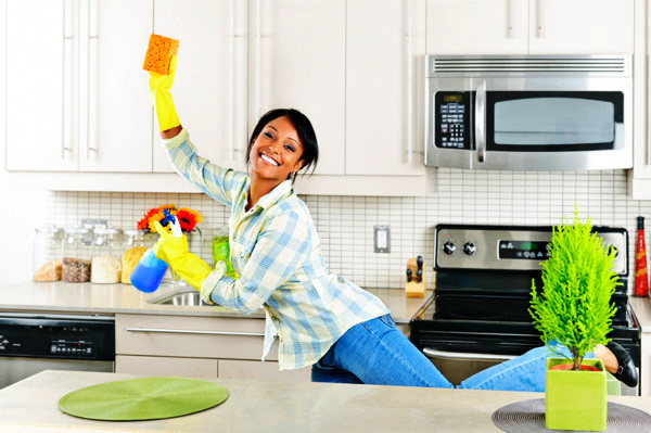 Give Your Kitchen a Deep Clean...