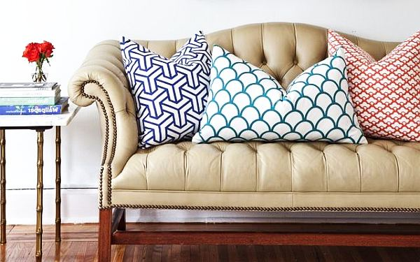 Decorative Pillow Placement : The Art Of Pillow Placement