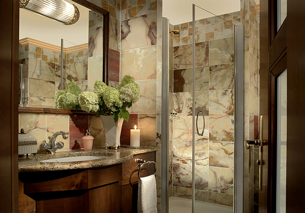 19 tastefully elegant bathroom designs for Elegant master bathroom ideas