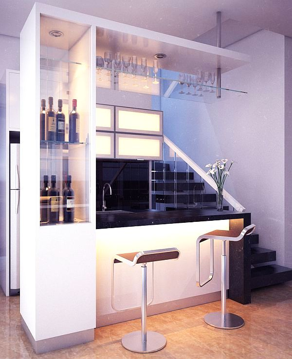 minibar furniture contemporary style