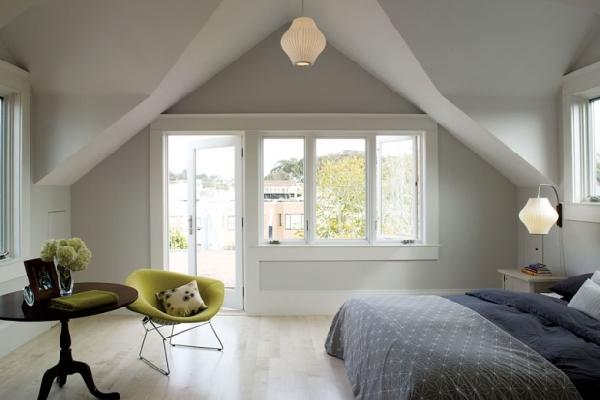24 upscale simple bedroom designs for Simple attic design